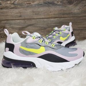 NEW Nike Air Max 270 React Purple Running Shoes